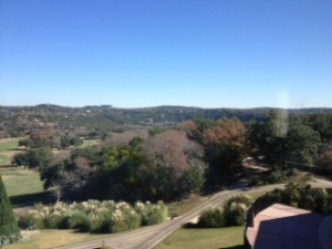Barton Springs. Beautiful rolling hills.